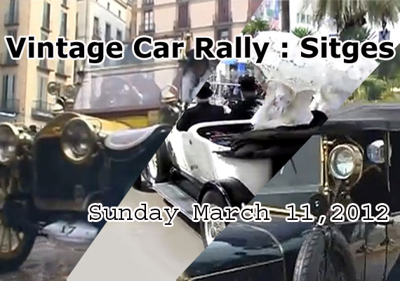 55th Vintage Car Rally Sitges 2013