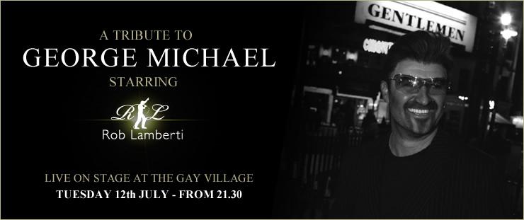Rob Lamberti as George Michael