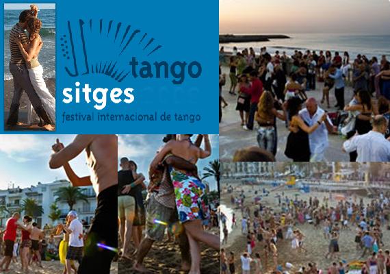 sitges beach tango