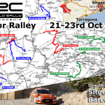 World RACC Ralley near Sitges Barcelona Spain