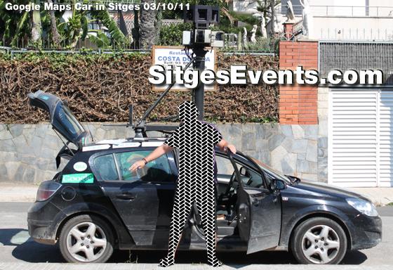 sitges google maps car