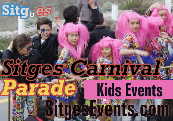 Sitges Carnival Kids Workshop and Masked Ball 2015