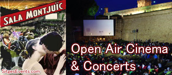 Open Air Cinema & Concerts in Barcelona
