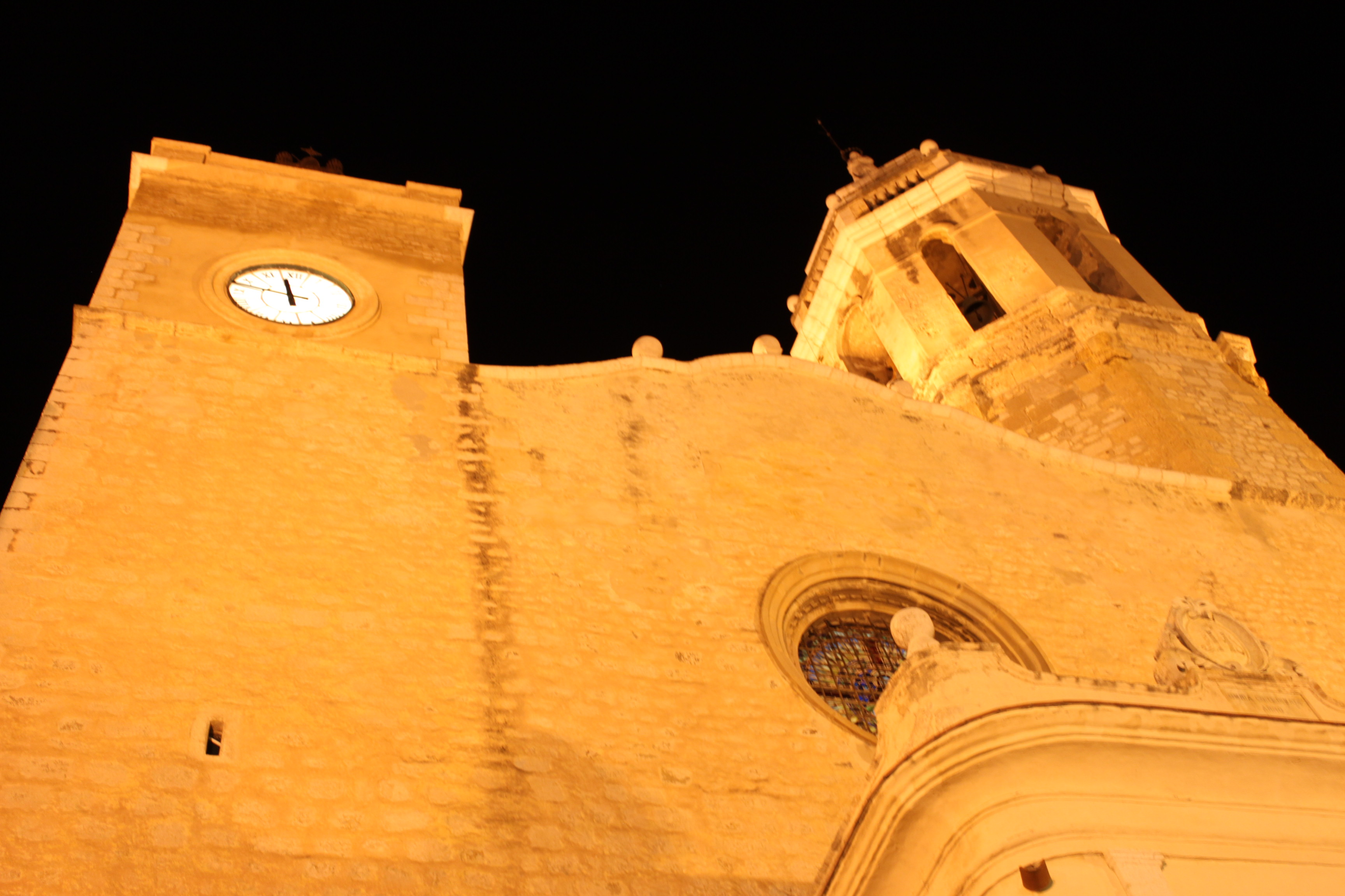 Earth Hour in Sitges