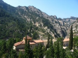 La Fontcalda, Gandesa, Retreat and springs
