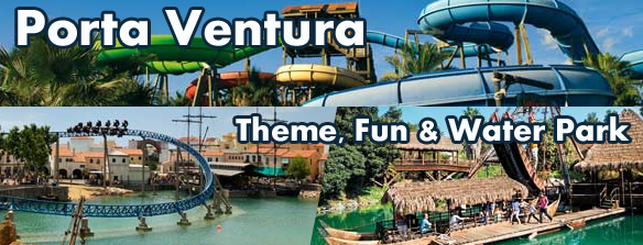 Port Aventura and Costa Caribe Water Park
