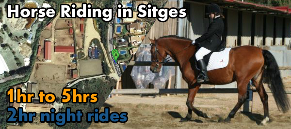 Horse Riding in Sitges