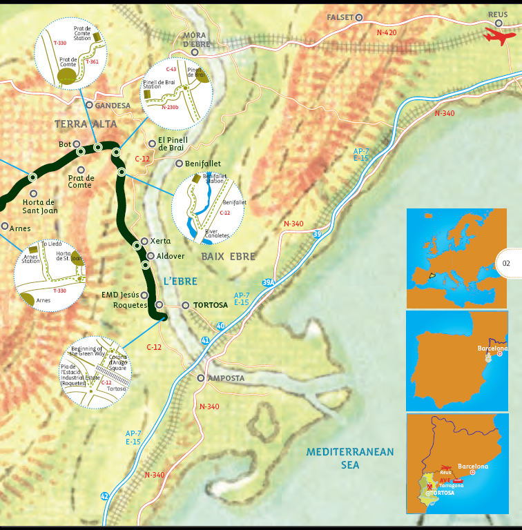 The Greenway Map Diagram