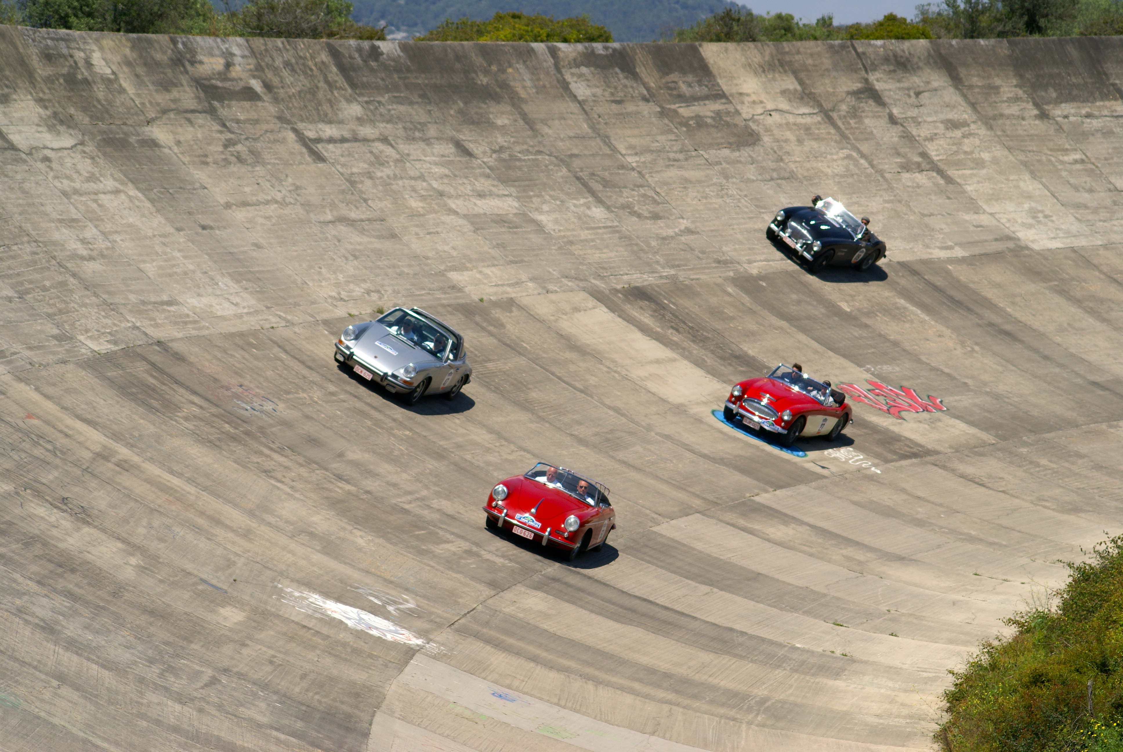 Circuito Terramar : Targa catalunya sitges terramar circuit de catalunya