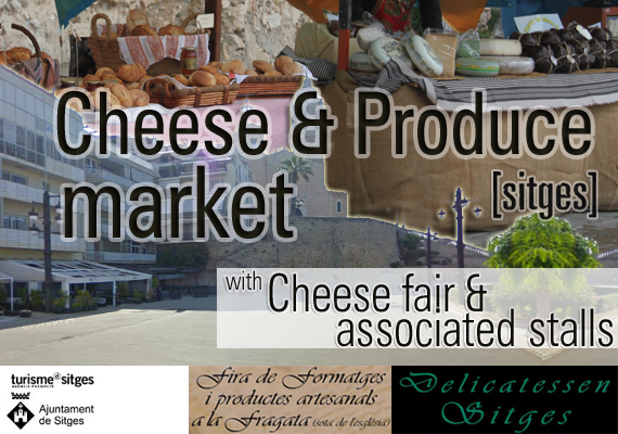 cheese produce market sitges