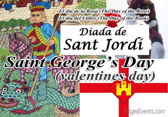 St George's Day Dia de Sant Jordi