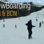 ski snowboarding sitges Barcelona