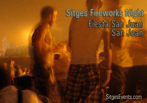 San Joan Fiesta San Juan Fireworks Night 2012