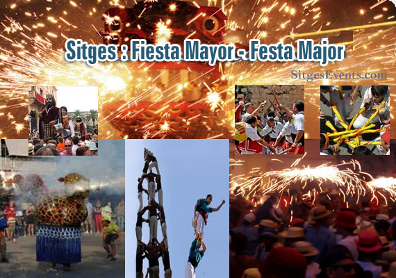 Sitges Fiesta Mayor Festa Major 2012