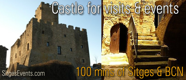 Castle : Castillo Castell De Les Sitges