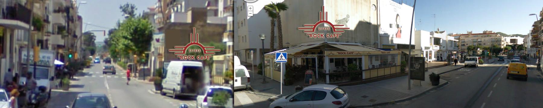 Sitges Rock Cafe Location