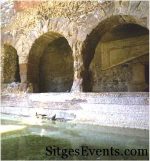 Roman Baths La vila de Caldes 1 hr from Sitges