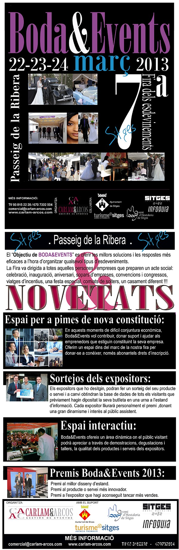 Bodaevents wedding event sitges