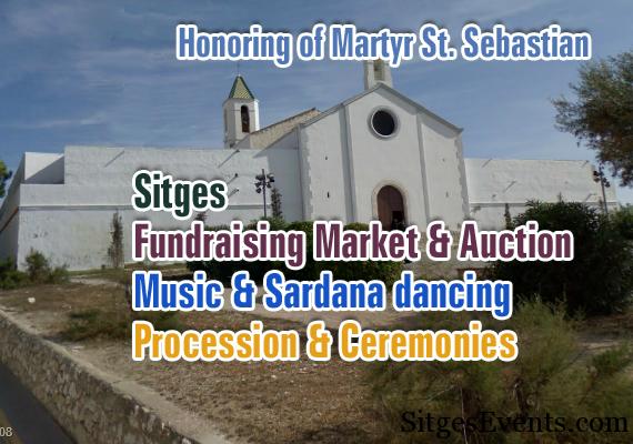 Festival Festivitat San Sebastian Church Chapel
