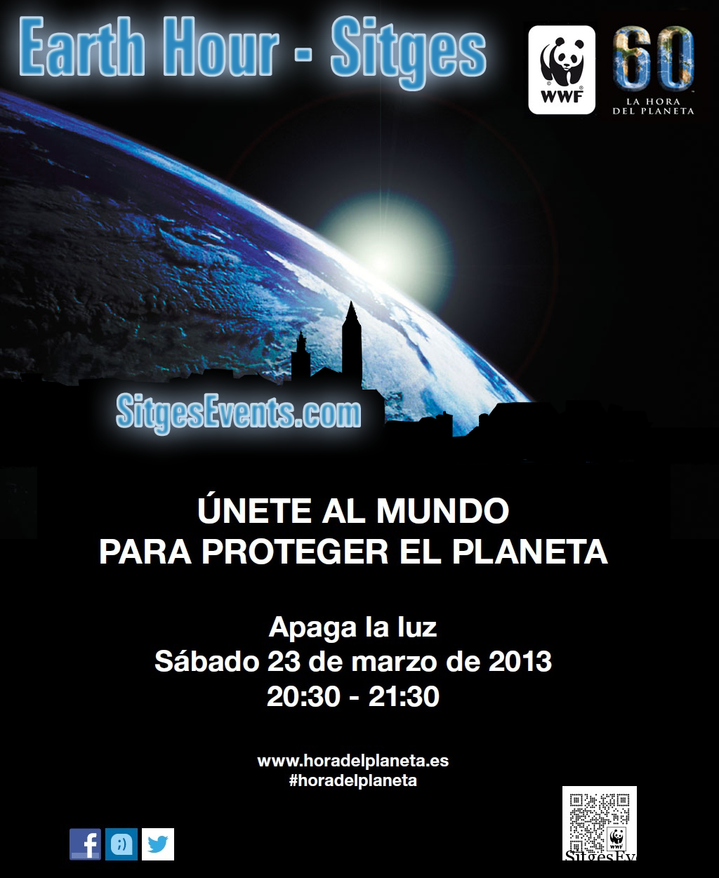L'Hora del Planeta – Earth Hour in Sitges 2013