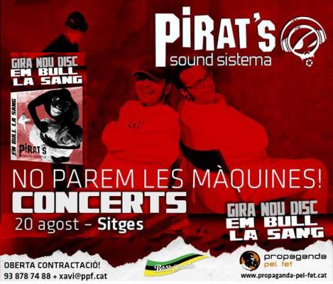 Pirat S Concert In Sitges Reggae Ska Dancehall Drum