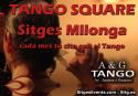 """Tango Square Sitges Milonga"""" at El Retiro's theatre hall"""