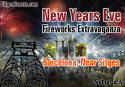Barcelona New Year's Eve extravaganza with spectacular pyrotechnics