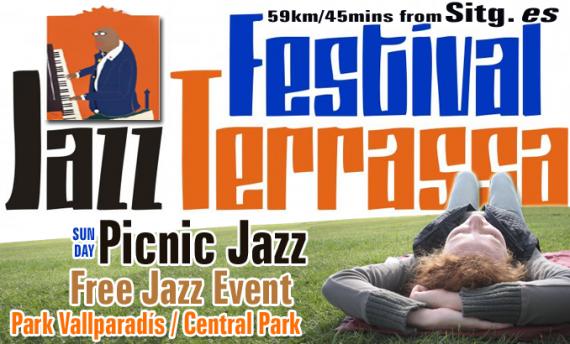 Sun 23rd March Free Open-air Jazz Concert Terrassa