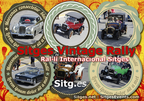 58th Vintage Car Rally Sitges 2017