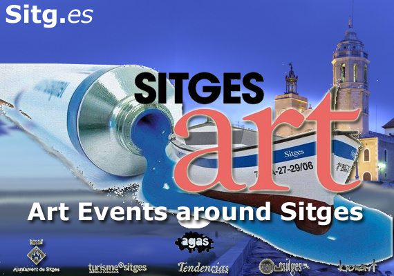 Sitges Art Exhibition Paintings 2015