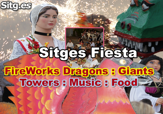 Sant Pere July Sitges Cases Noves Street Party 2015