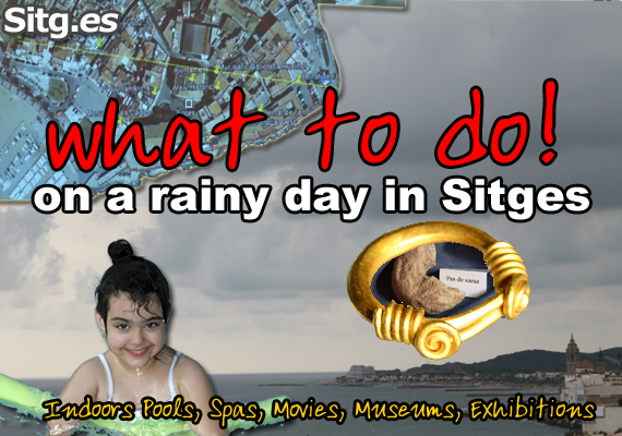 rainy cloudy day in Sitges events