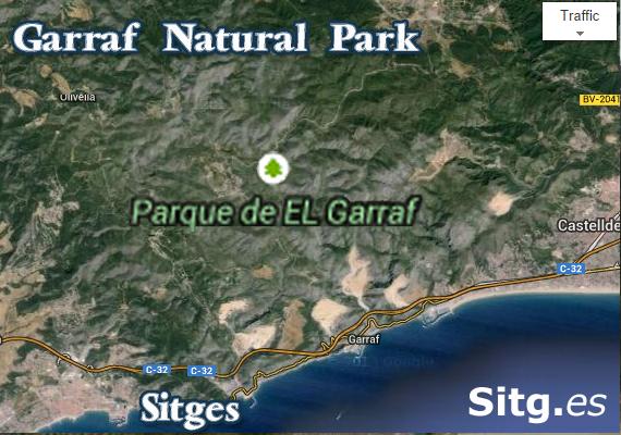 Garraf Natural Park – 10 mins