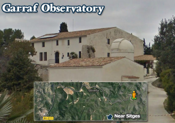 Observatory in Garraf - Observatori Astronòmic del Garraf