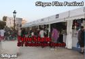 Sitges Film Festival Stalls