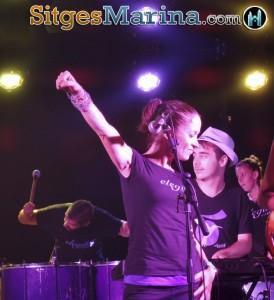 Live Free Music #Sitges Elegibó Samba Sitges Marina (Port Aiguadolç)