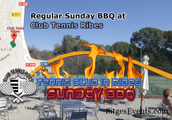 Regular Sunday BBQ Tennis Club Ribes
