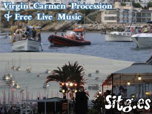 Sitges-Virgin-Carmen-Procession