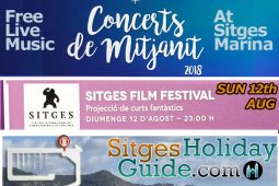 Sun 12th AUG Sitges Midnight Concert Port de Sitges Marina 2018